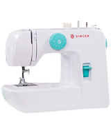 SINGER 1234 Portable Sewing Machine with 6 Built-In Stitches - Fully Automatic 4-step Buttonhole