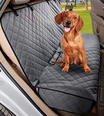 Review of VIEWPETS Bench Car Seat Cover Protector Waterproof, Heavy-Duty and Nonslip Pet Car Seat Cover