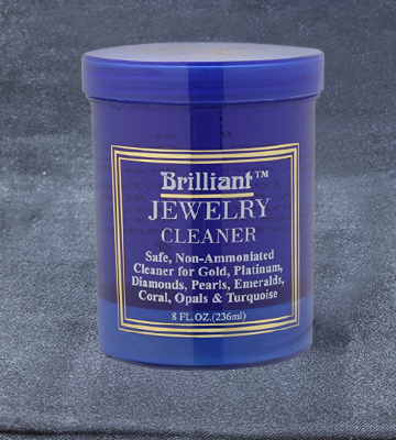 Review of Brilliant 8 Oz with Cleaning Basket and Brush Jewelry Cleaner