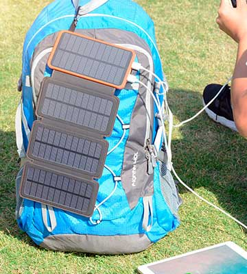 Review of ADDTOP HI-S025 25000mAh Portable Solar Charger / Power Bank