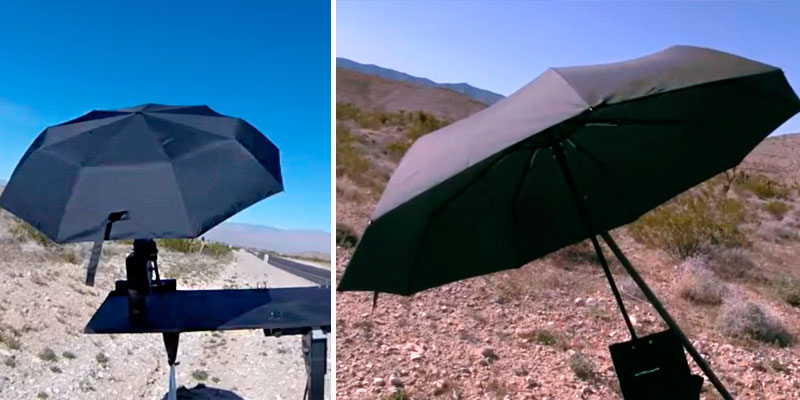 Review of Repel Umbrella Double Vented Travel Umbrella with Teflon Coating