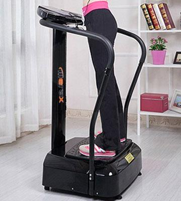 Review of Merax Carzy Fit Vibration Platform Fitness Machine