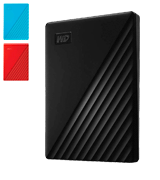 Western Digital My Passport (2019) Portable External Hard Drive (USB 3.0)
