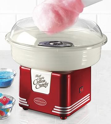 Review of Nostalgia Retro Series Hard & Sugar Free Cotton Candy Maker
