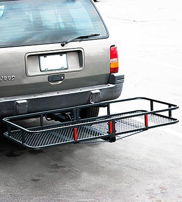 Review of ARKSEN Folding Cargo Carrier Luggage Basket
