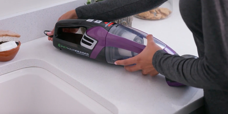 Review of Bissell 2390A Pet Hair Eraser Lithium Ion Cordless Hand Vacuum