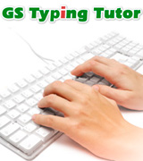 GS Typing Tutor Touch Typing Lessons
