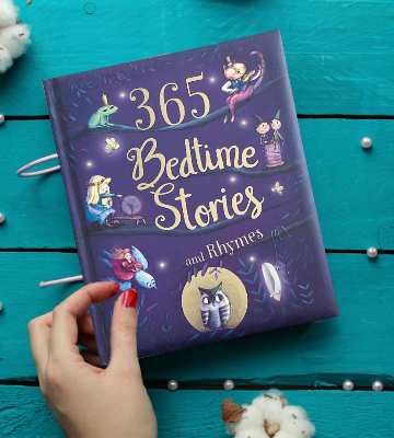 Review of Cottage Door Press Hardcover 365 Bedtime Stories and Rhymes