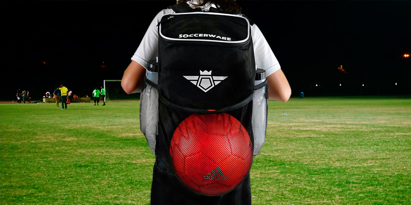 Review of Soccerware 21L Capacity Soccer Backpack with Ball Holder