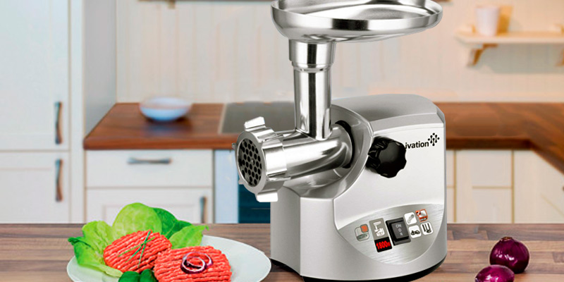 Review of Ivation IV-EMG181S Powerful Electric Meat Grinder
