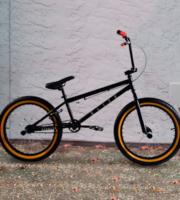 "Review of Elite Bicycle 20"" The Stealth Freestyle BMX Bicycle"