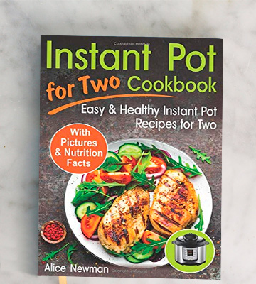 Review of Alice Newman Healthy Recipes for Two Instant Pot Cookbook