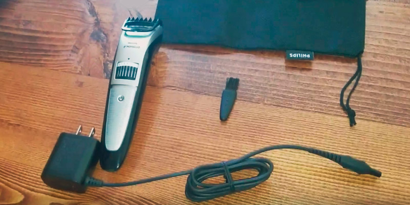 Philips Norelco QT4018/49 Beard Trimmer Series 3500 in the use