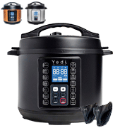 Yedi 9-in-1 Total Package Instant Programmable Pressure Cooker