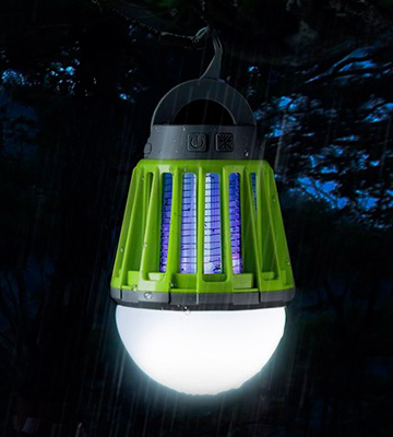 Review of ENKEEO 213434001 2-in-1 Mosquito Killer and Camping Lantern