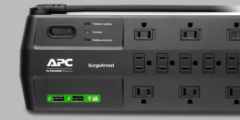 Review of APC P11U2 11-Outlet Surge Protector