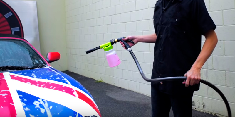 Review of AOOU 900ml Foam Blaster Wash Gun