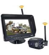 Yuwei IP69K Wireless Backup Camera System Kit Rear View