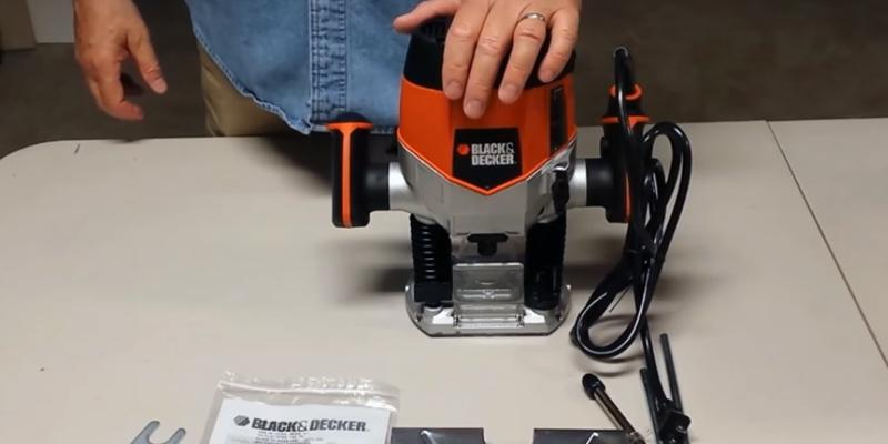 Review of BLACK+DECKER RP250 Variable Speed Plunge Router