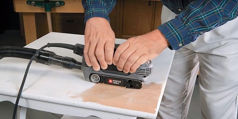 Review of PORTER-CABLE 371 Compact Belt Sander