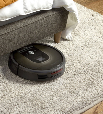 Review of iRobot Roomba 980 Navigation with Visual Localization