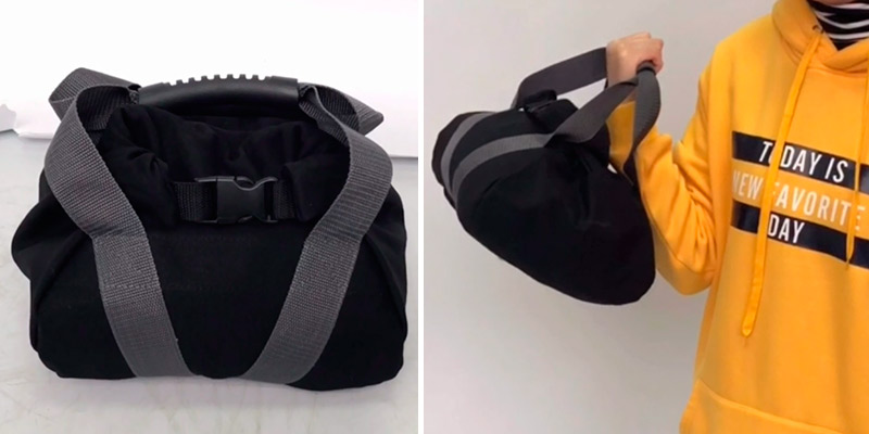 Review of MDSTOP Adjustable Canvas Kettlebell-Sandbag with Handle