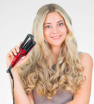 Review of HTG Ceramic Roller Travel Wave Iron