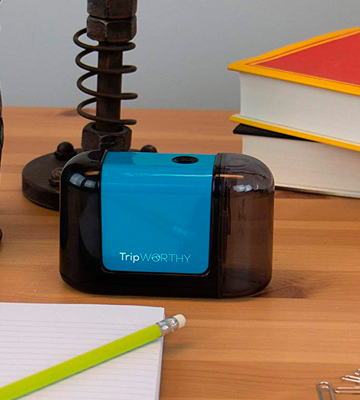 Review of TripWorthy Battery Operated Electric Pencil Sharpener