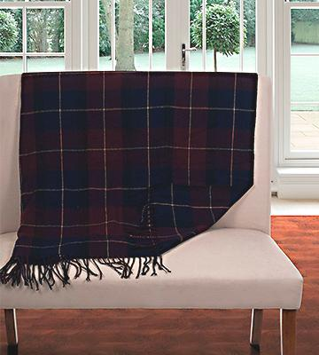 Review of Lavish Home Classic plaid Cashmere-Like