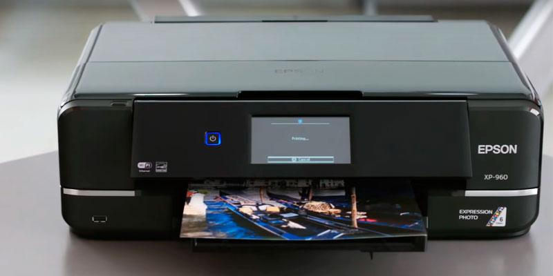 Epson XP-960 with Scanner in the use