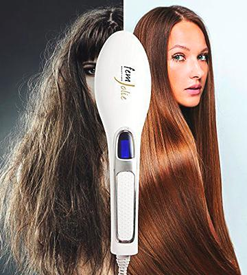Review of FemJolie FJ500 Professional Digital Straightening Brush