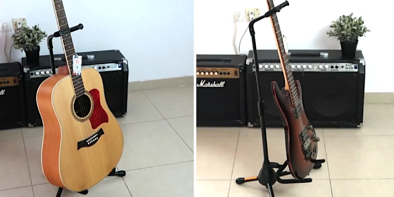 Review of On-Stage XCG4 Black Tripod Guitar Stand