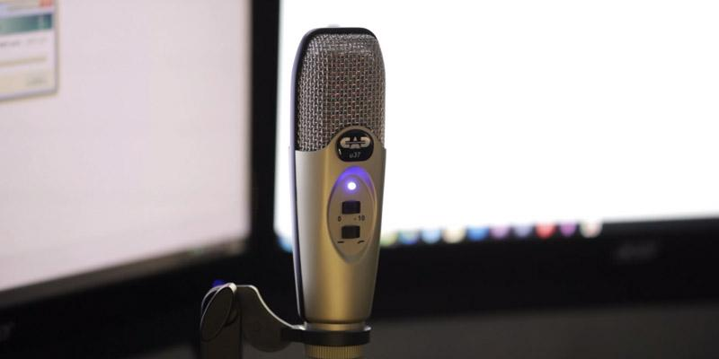 Review of CAD U37 USB Studio Condenser Recording Microphone
