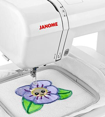 Review of Janome 001200E Memory Craft Embroidery Machine