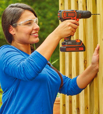 Review of Black & Decker BDCDD120C 20V MAX Lithium Single Speed Drill/Driver