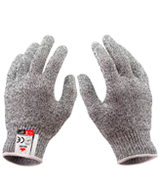 NoCry (1 Pair) Level 5 Protection Cut Resistant Kevlar Gloves