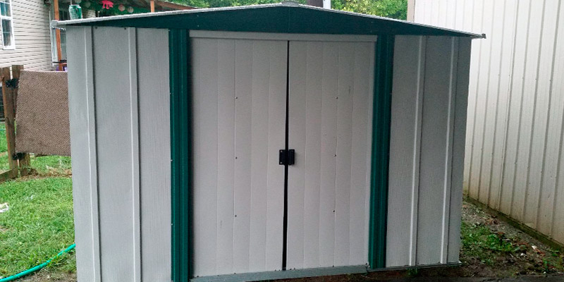 Review of Arrow Sheds HM86 Steel Storage Shed