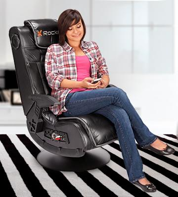 Review of X Rocker 51396 Pro Series Pedestal 2.1 Video Gaming Chair, Wireless