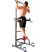 RELIFE REBUILD YOUR LIFE Power Tower Workout Dip Station for Home Gym Strength Training Fitness