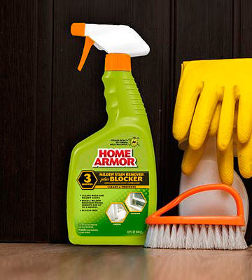 Review of Home Armor Mildew Stain Remover Plus Blocker, Trigger Spray