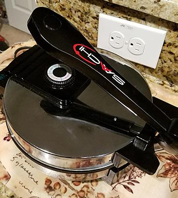 Review of Saachi SA1650 Electric Tortilla Maker