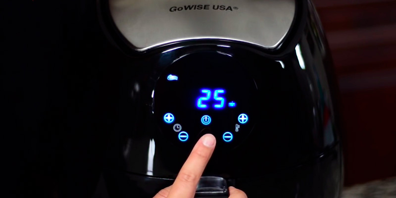 Detailed review of GoWISE USA GW22621 Electric Air Fryer