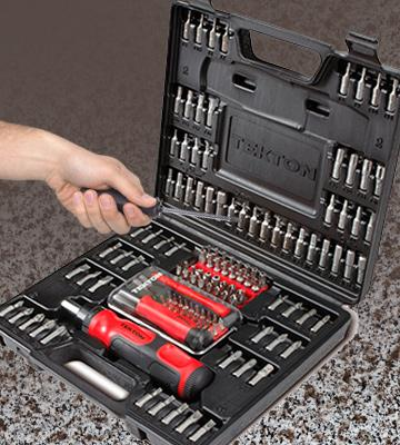 Review of Tekton 2841 Everybit Ratchet Screwdriver and Bit Set