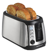 Hamilton Beach 24810 Long Slot Keep Warm Toaster