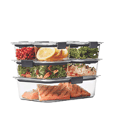 Rubbermaid Brilliance 14-Piece Set Food Storage Container