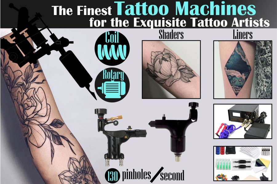 5 Best Tattoo Machines Reviews of 2019 - BestAdvisor com
