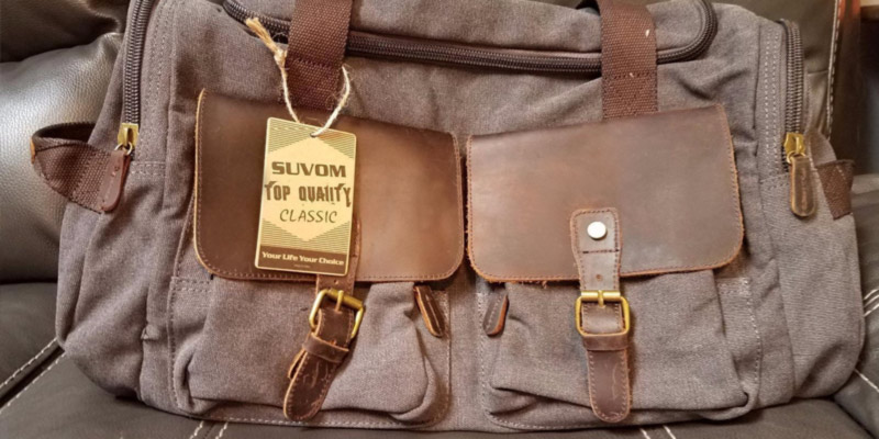 Review of Suvom Military Weekend Bag Luggage