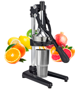 Zulay Extra Tall Stand Juicer Manual Juice Squeezer