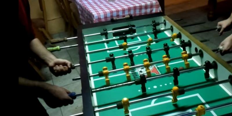 Tornado Sport Foosball Table in the use