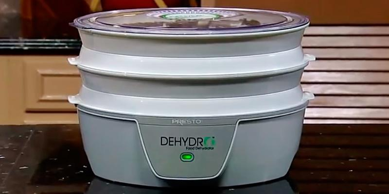 Review of Presto 4 Tray Dehydro Electric Food Dehydrator, 06300